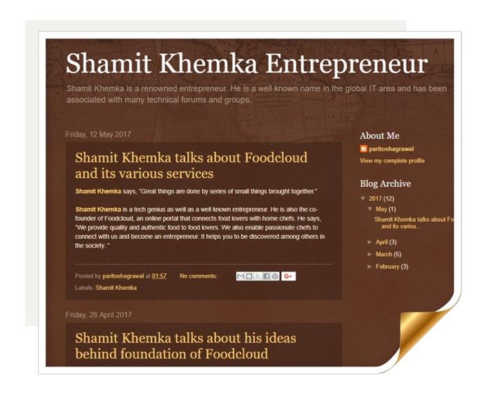 shamit khemka entrepreneur.blogspot