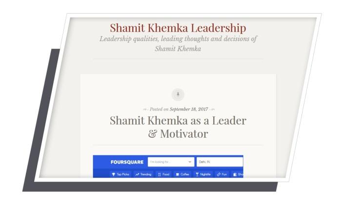 shamit khemka leadership.wordpress