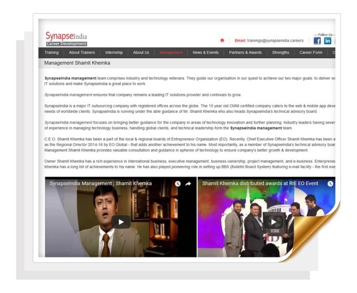 shamit khemka synapseindia.careers