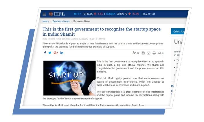 shamit khemka startup plan